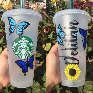 Starbucks custom cups